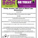 Trunk or Treat & Boo Bash @ BLE Parking Lot & Gym